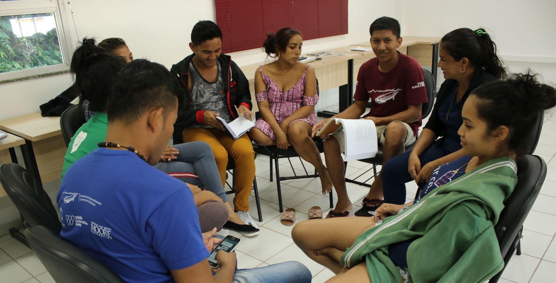 Oficina aborda direitos humanos para a proteção à saúde de jovens ribeirinhos