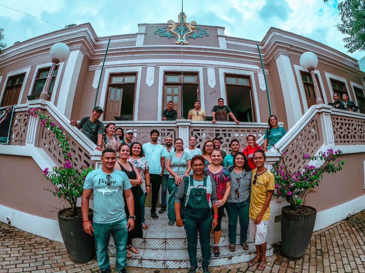 Instituto Mamirauá realiza 6º Curso de Multiplicadores de Turismo de Base Comunitária