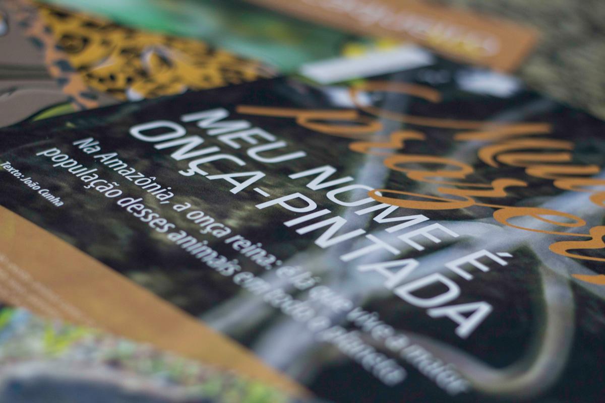 Publicações sobre onça-pintada e macaco-de-cheiro da Amazônia são distribuídas em evento no Senado Federal