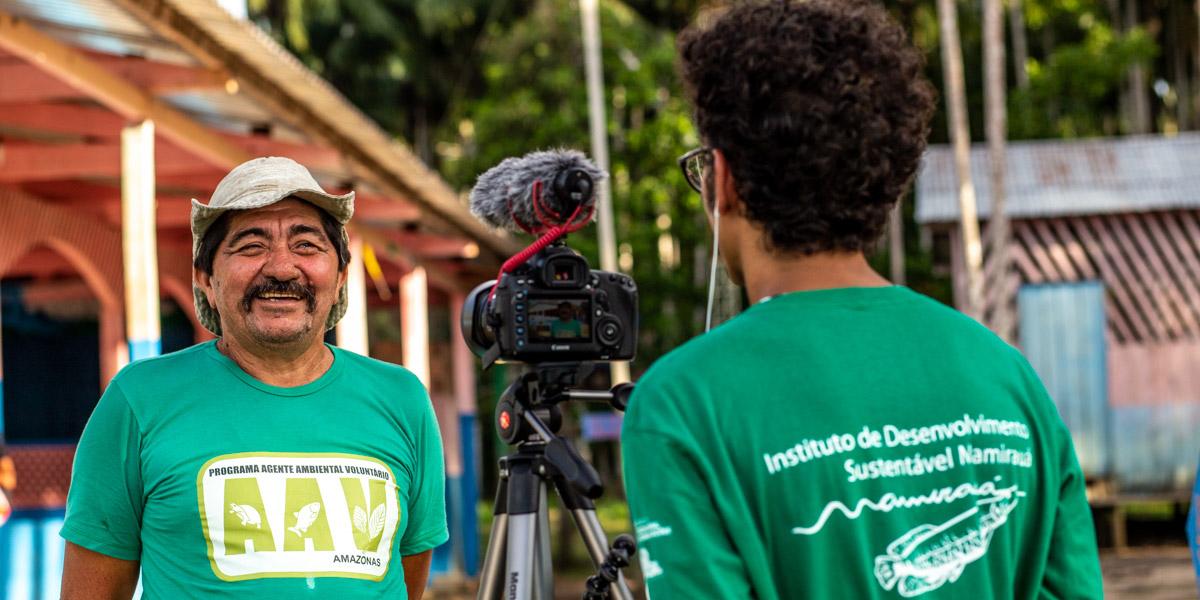 """""""A Amazônia em Boas Mãos"""": vídeo aborda principais resultados de atuação do Instituto Mamirauá na Amazônia; assista"""