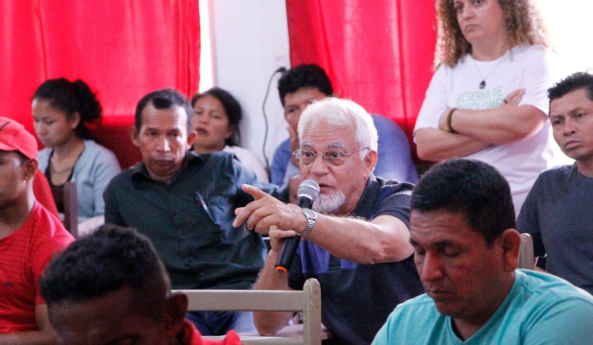 Em Tefé, Plano de Gestão da Reserva Amanã é avaliado em consulta pública