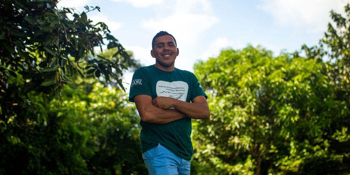 """""""Meu sonho é ser biólogo, é uma área que trabalha diretamente com a floresta"""""""