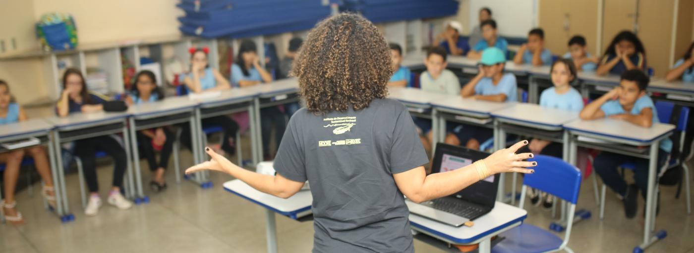 Instituto Mamirauá vai à escola em Campo Grande