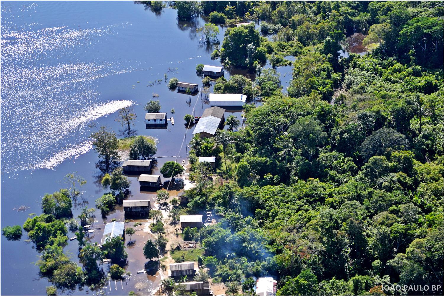Cerimônia marca início de projeto que irá beneficiar mais de 100 famílias que moram em comunidades ribeirinhas da Amazônia