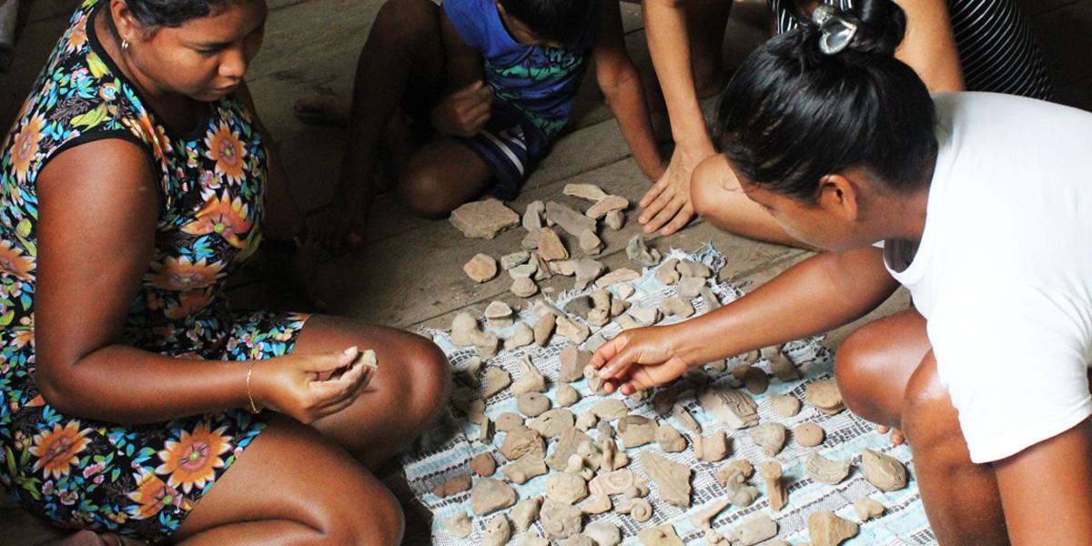 Ribeirinhos da Amazônia vão estudar história com vestígios arqueológicos das comunidades onde vivem